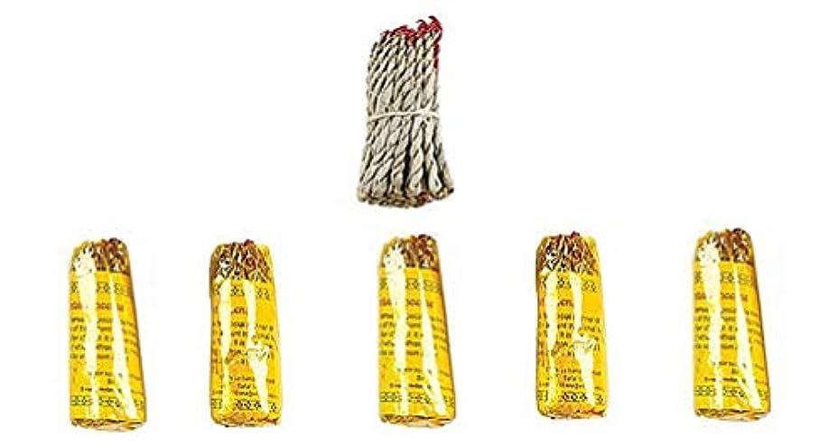 ラッドヤードキップリング体系的に同化ルンビニRope Incense Dhoop ( 6 in 1パケット)