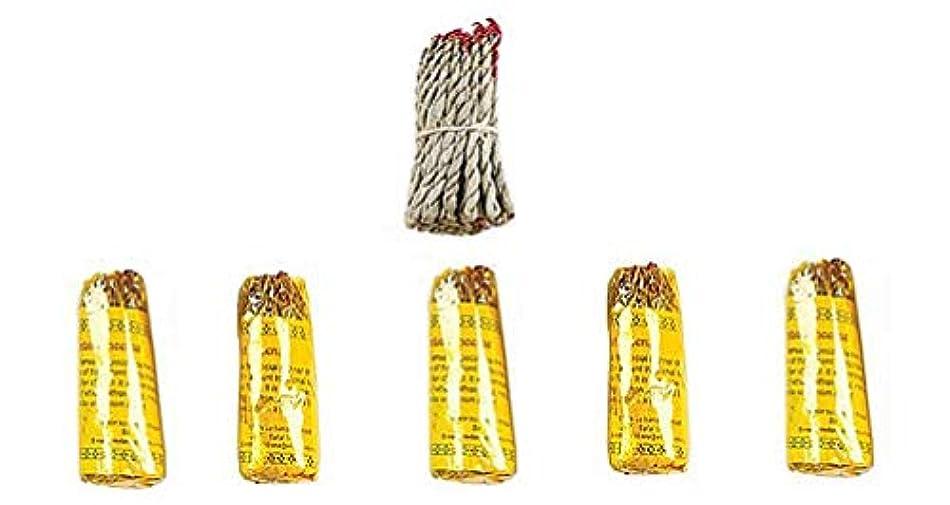 絶え間ない巨大な何もないルンビニRope Incense Dhoop ( 6 in 1パケット)