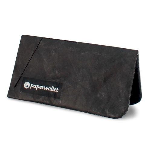 【Solid Black】 Paperwallet (ペーパーウォレット) Coin Pouch (コインポーチ) 小銭入れ 財布 Tyvek (タイベック) 世界のアーティストとコラボしたサイフ コインケース