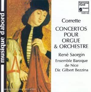 Corrette;Organ&Orch Concs.