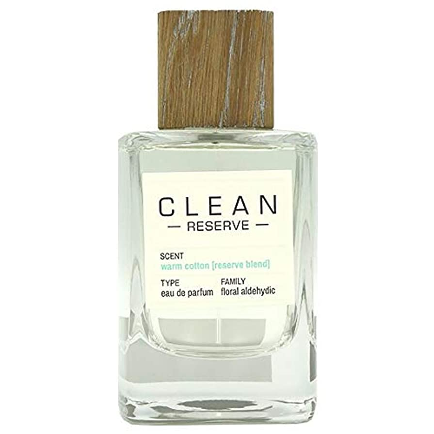 香り降ろすシティクリーン CLEAN リザーブ ウォームコットン (テスター)EDP SP 100ml [並行輸入品]