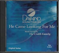 He Came Looking For Me [Accompaniment/Performance Track]【CD】 [並行輸入品]