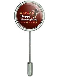 ハッピー感謝祭トルコスティックピンスティックピン帽子ブローチ