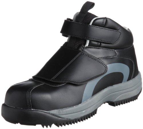 [ミドリ安全] 安全作業靴 JSAA認定 雪上用 簡易防水 スノーシューズ ハイカット プロスニーカー MPS135 メンズ ブラック 26.0(26cm)