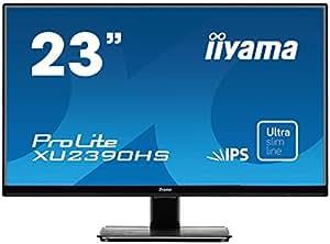 iiyama スリムベゼル+AH-IPSパネル『XUシリーズ』 FullHD(1920x1080) モード対応 WLEDバックライト23型ワイド液晶ディスプレイ XU2390HS-B1