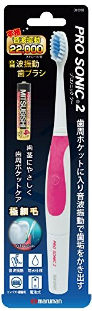 告白する美徳あいまいさプロソニック2本体(電池付)ピンク