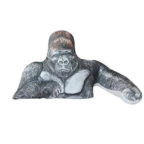 抱き枕 イケメンゴリラをイメージしたぬいぐるみ 強さとやさしさをあわせ持つ ニシゴリラのたくましい腕枕クッション おもちゃ 可愛い お誕生日ギフト プレゼント