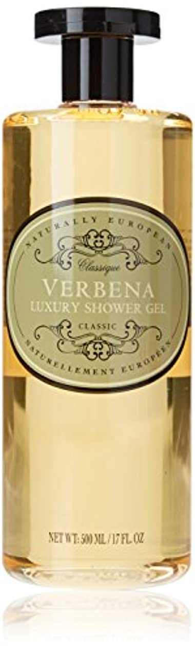 認める中央不利Naturally European Verbena Luxury Shower Gel 500ml