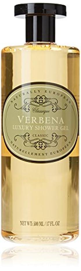 エンジン放射性篭Naturally European Verbena Luxury Shower Gel 500ml