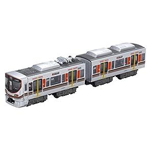 Bトレインショーティー JR 323系 大阪環状線 (先頭+中間 2両入り) 彩色済みプラモデル