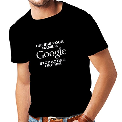 N4080 メンズTシャツ I don't need Google, my ...