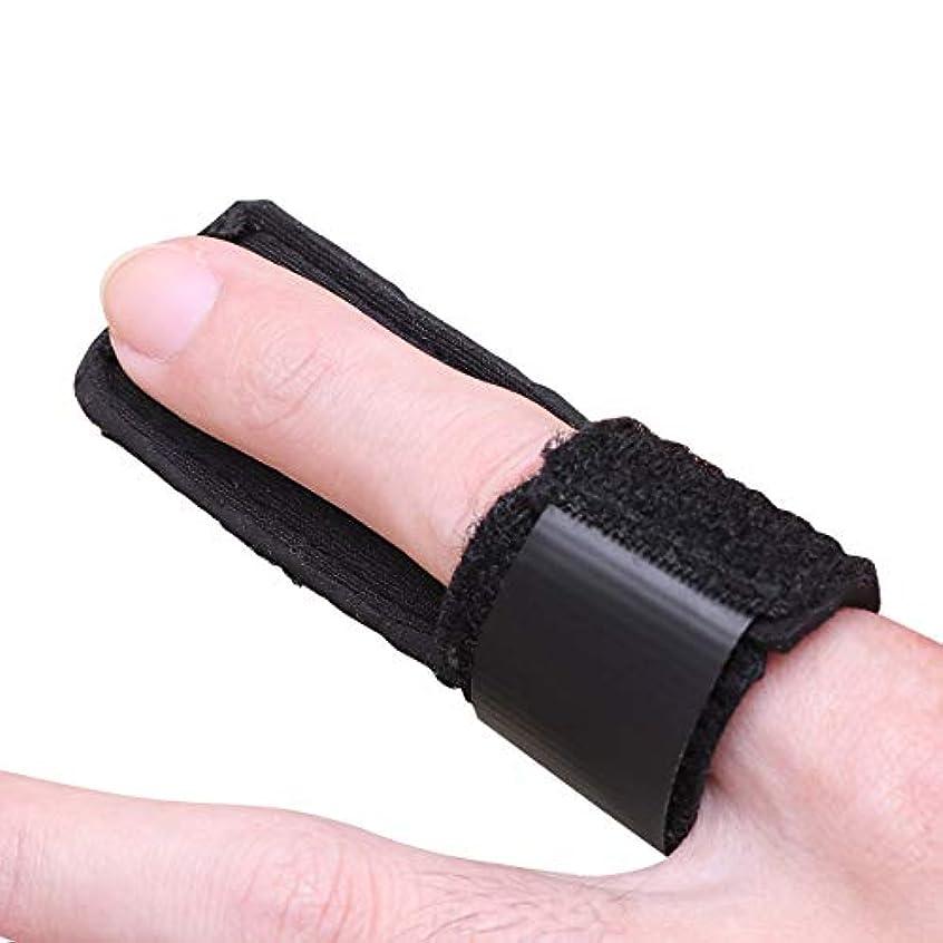 に頼る値する口ひげSUPVOX トリガーフィンガースプリントアルミサポートトリガーマレットフィンガーブレース痛み1 PCを和らげる