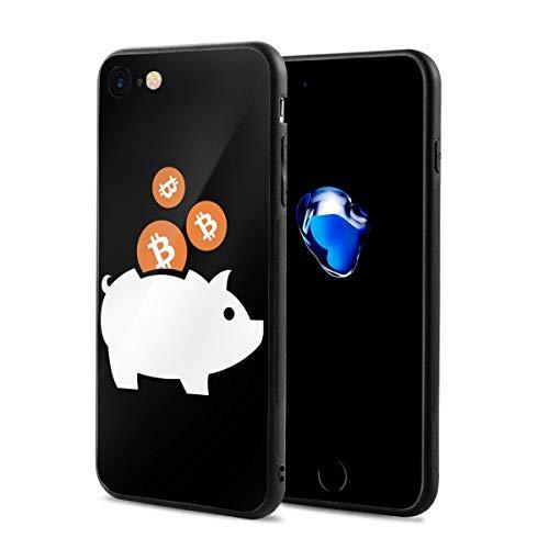 Epoch Ray ピギー ビットコイン スマホケース IPhone8 ケース / IPhone7 ケース 携帯カバー アイフォン7/8カバー 滑り止め おしゃれ 軽量 薄型 人気