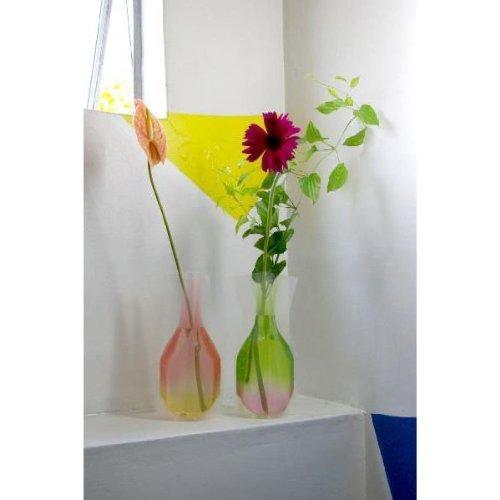 RoomClip商品情報 - D-BROS フラワーベース ビニール製花瓶 2点セット 807fjp
