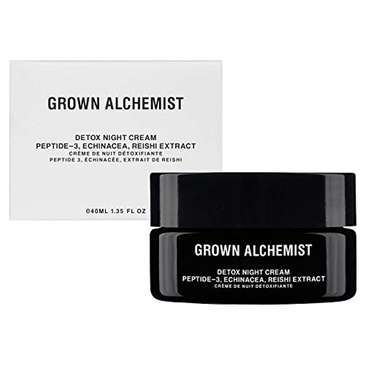進行中オズワルドオッズGrown Alchemist Detox Night Cream - Peptide-3, Echinacea & Reishi Extract 40ml/1.35oz並行輸入品