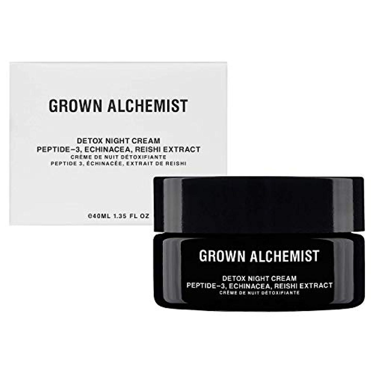 朝の体操をするロシア先住民Grown Alchemist Detox Night Cream - Peptide-3, Echinacea & Reishi Extract 40ml/1.35oz並行輸入品