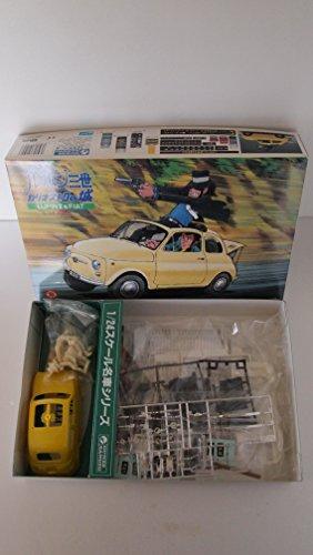 1/24ルパン三世カリオストロの城LUPINⅢ&FIAT 追跡