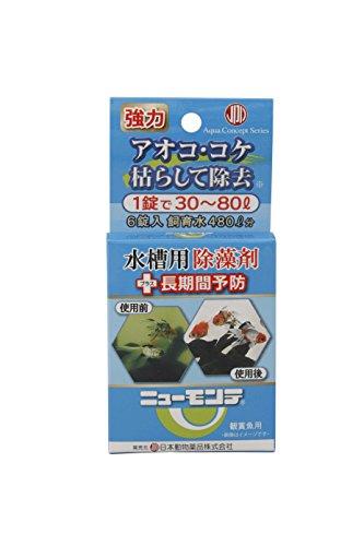 ニチドウ アオコ除去剤 ニューモンテ フック式 6錠