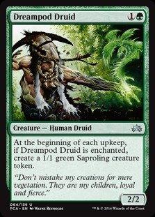 Magic : the Gathering–Dreampod Druid ( 064/ 156)–Planechase Anthology