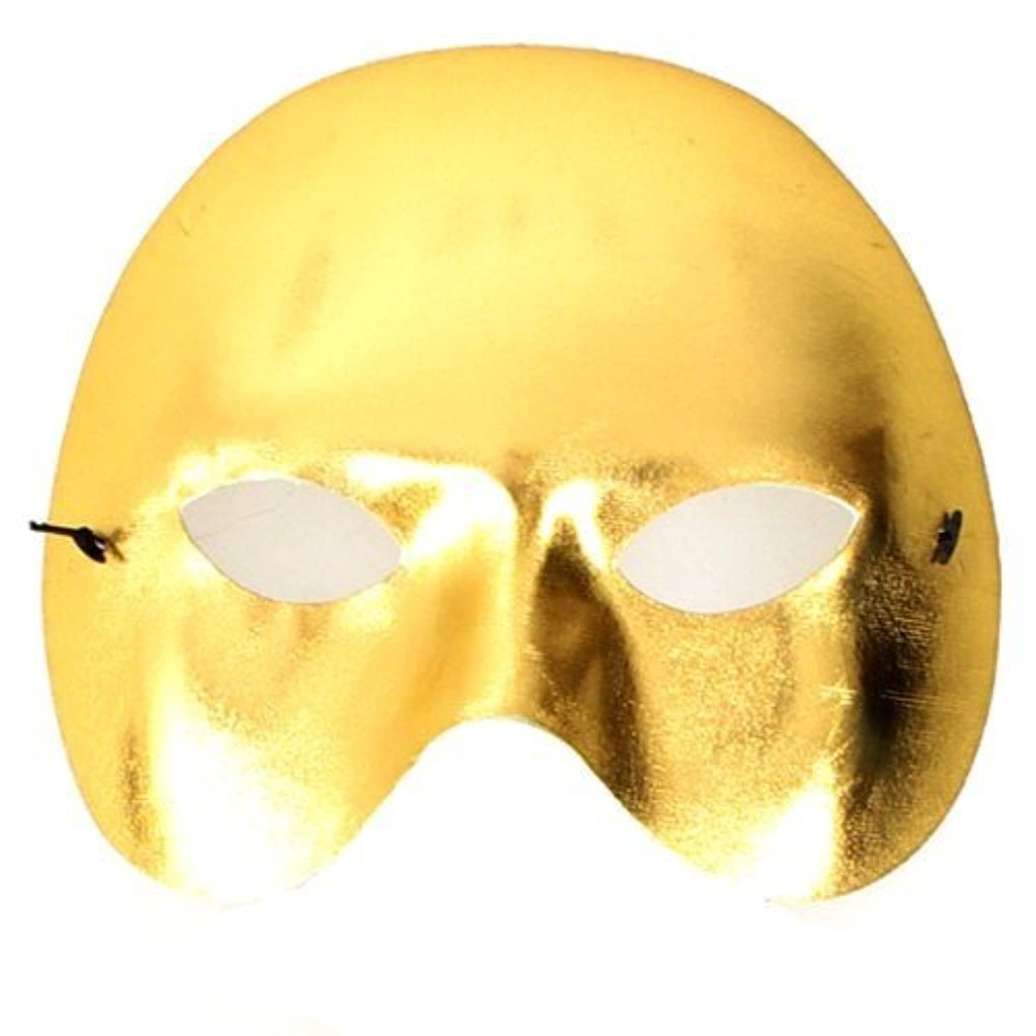 Fun Party Toy - party half mask (gold)