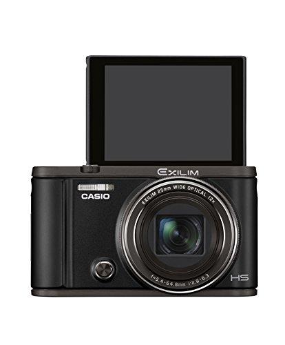 CASIO デジタルカメラ EXILIM EX-ZR3000BK 自分撮りチルト液晶 オートトランスファー機能搭載 EXZR3000 ブ...