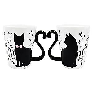 アルタ マグカップルニューシリーズ ピアノネコ 黒猫/ピアノ AR0604101
