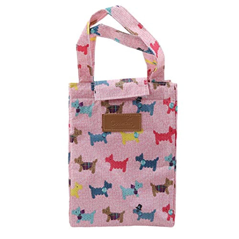 Underleaf ポータブルかわいい女性の女性の子供の絶縁ランチバッグラージ女性のハンドバッグ食品ピクニッククーラーボックスのストレージトートバッグ