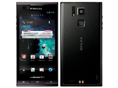 REGZA Phone T-02D docomo [Black]