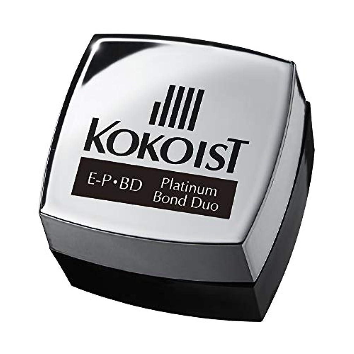 魅力的アブストラクト不名誉なKOKOIST プラチナボンドデュオ 4g UV/LED対応
