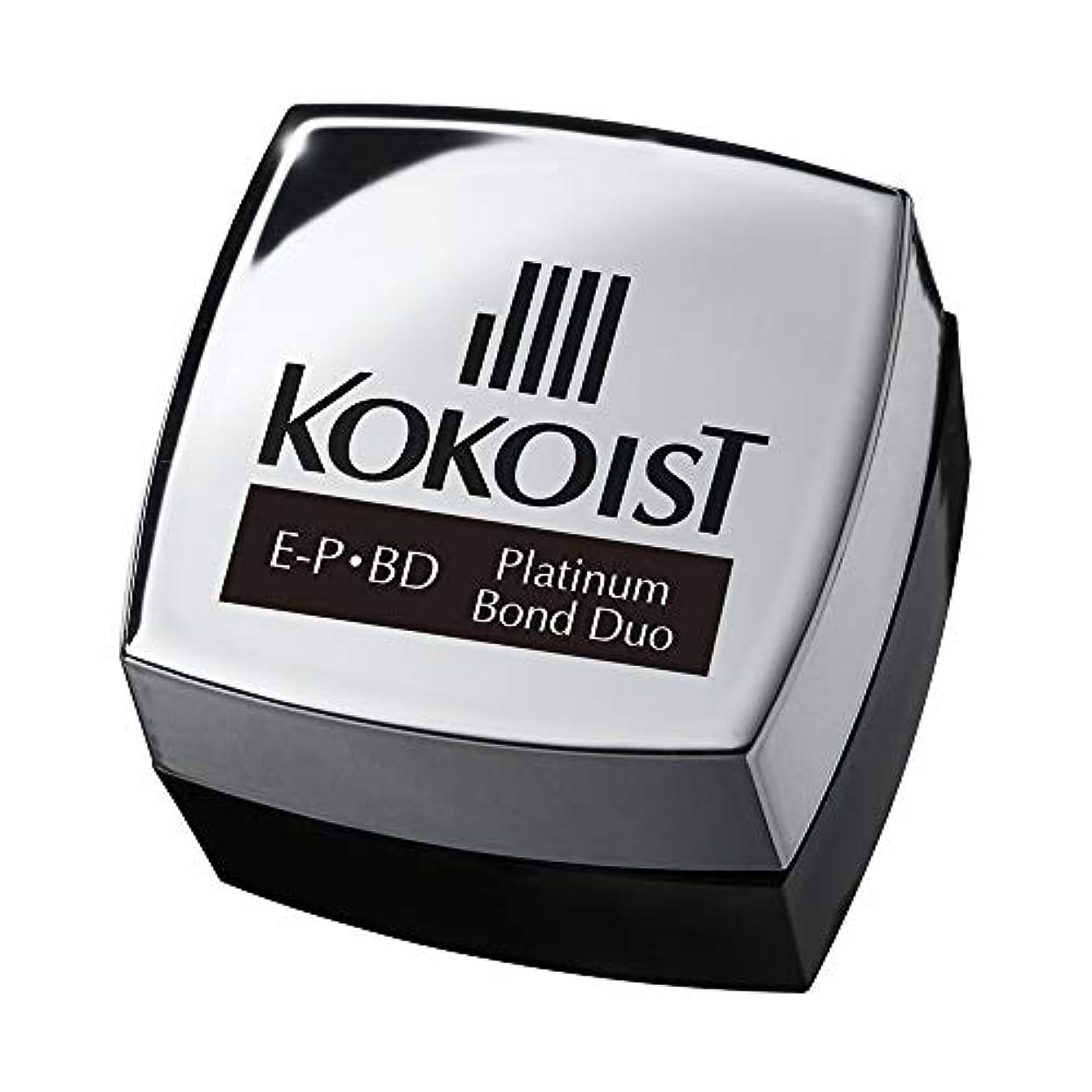 季節眠り民間人KOKOIST プラチナボンドデュオ 4g UV/LED対応