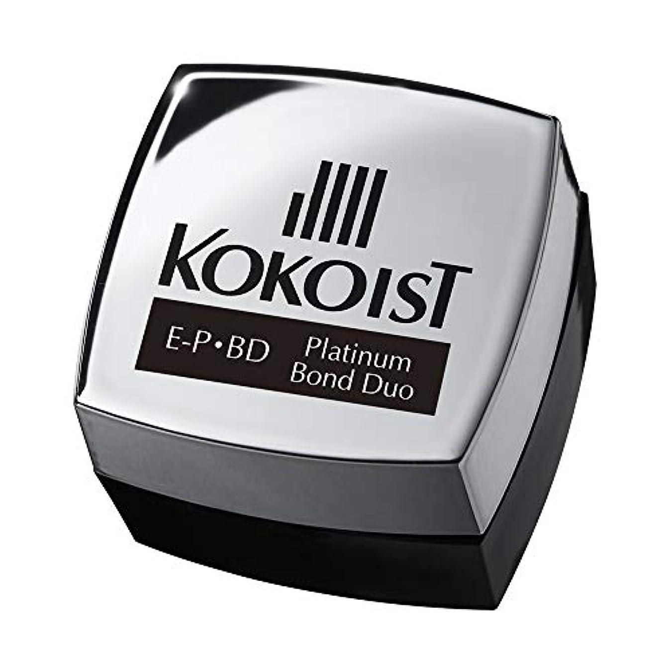模倣剃るメカニックKOKOIST プラチナボンドデュオ 4g UV/LED対応