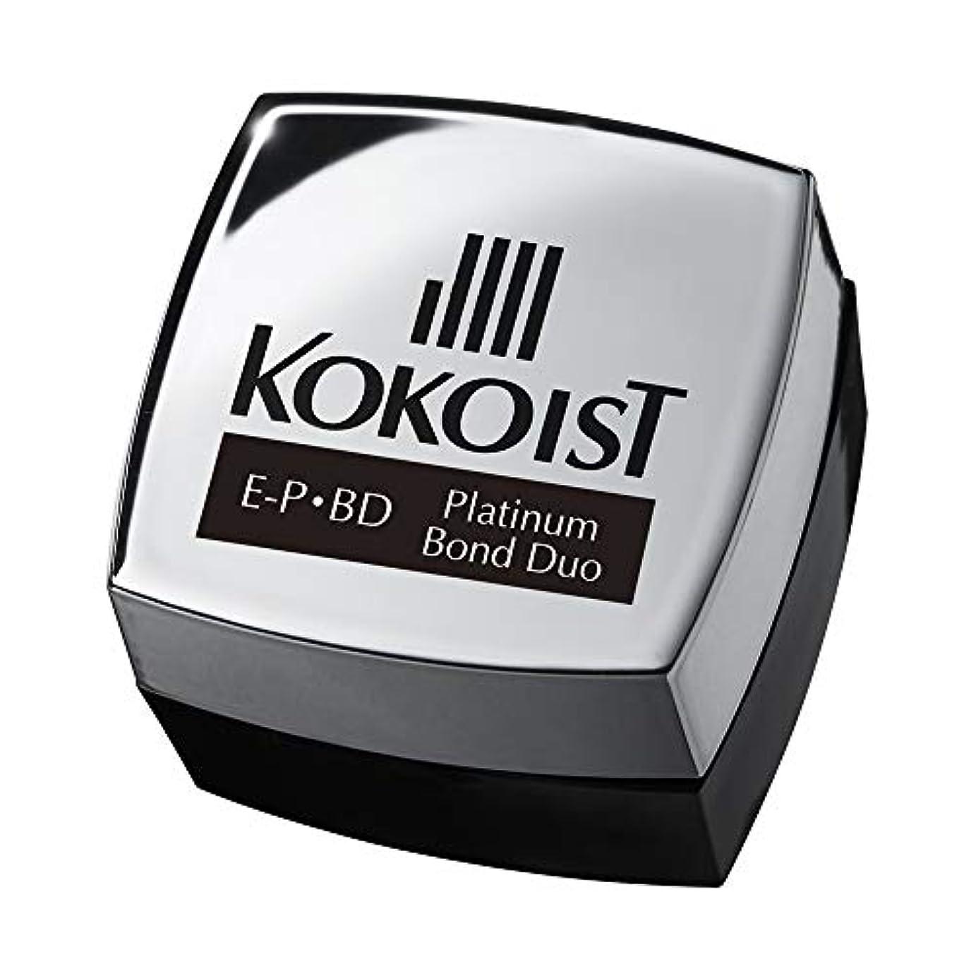 テメリティブロー冷酷なKOKOIST プラチナボンドデュオ 4g UV/LED対応