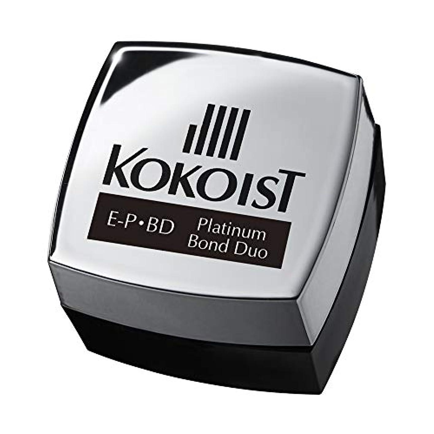 装備する衣類バックアップKOKOIST プラチナボンドデュオ 4g UV/LED対応