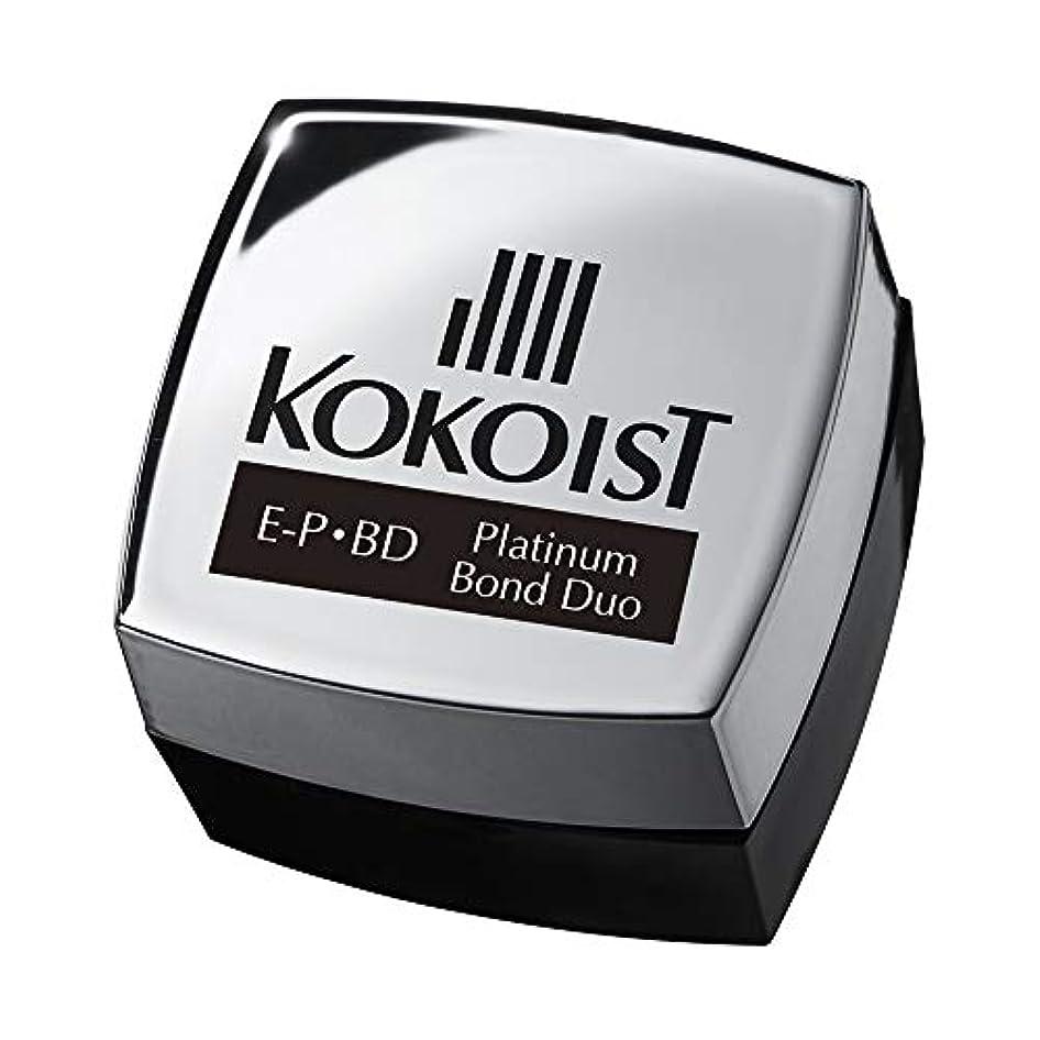 爪結び目奇跡的なKOKOIST プラチナボンドデュオ 4g UV/LED対応