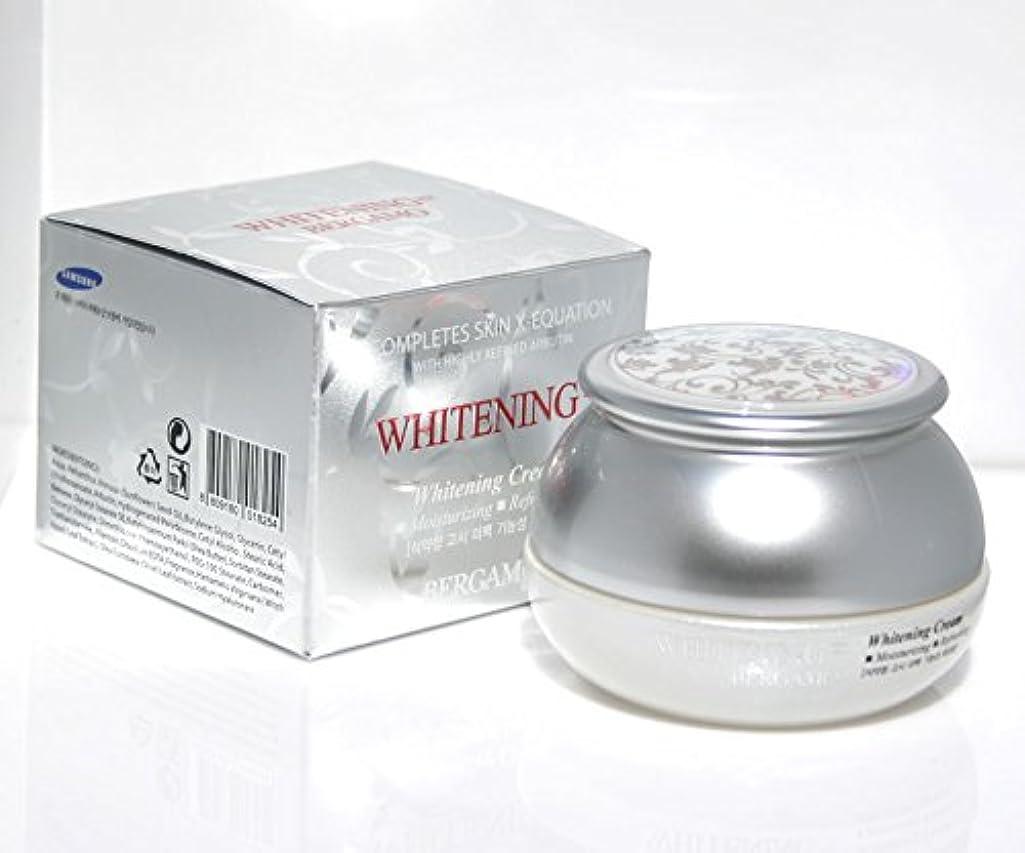 【ベルガモ][Bergamo]  は、高度に精製アルブチンホワイトニング例クリーム50g /  Completes Skin X-equation with Highly Refined Albutin Whitening...