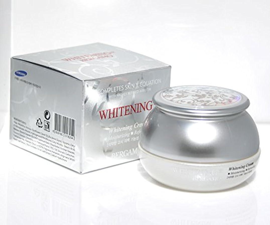 美的転送せがむ【ベルガモ][Bergamo]  は、高度に精製アルブチンホワイトニング例クリーム50g /  Completes Skin X-equation with Highly Refined Albutin Whitening...