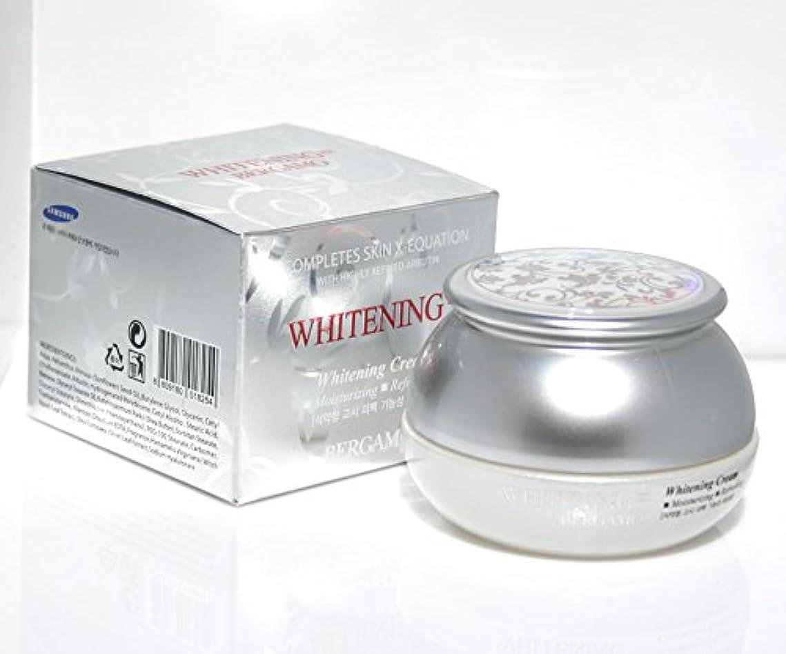 流星運営割れ目【ベルガモ][Bergamo]  は、高度に精製アルブチンホワイトニング例クリーム50g /  Completes Skin X-equation with Highly Refined Albutin Whitening...