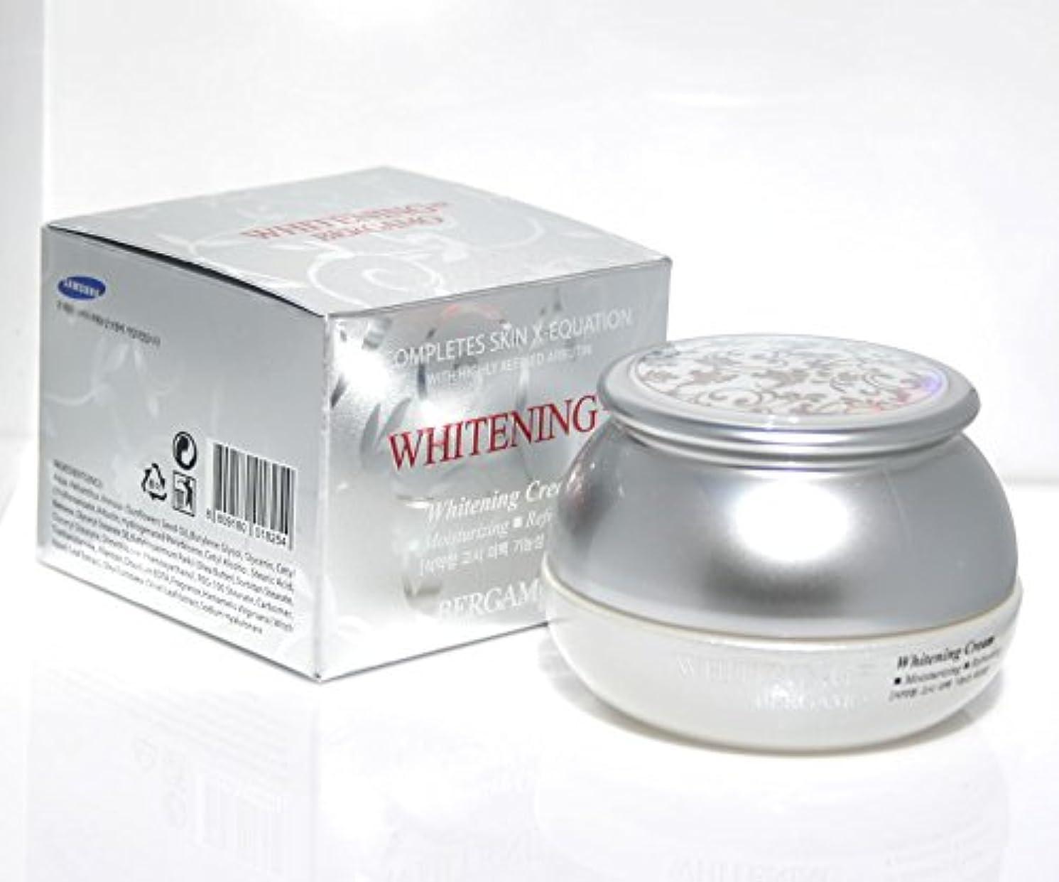 合意しかしながらスポークスマン【ベルガモ][Bergamo]  は、高度に精製アルブチンホワイトニング例クリーム50g /  Completes Skin X-equation with Highly Refined Albutin Whitening Ex Cream 50g /  を完了は、皮膚のX-式、さわやか / Whitening,moisturizing,refreshing / 韓国化粧品 / Korean Cosmetics [並行輸入品]