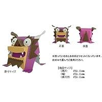 ペーパークラフト  ミニシーサーの仲間たち 紫色