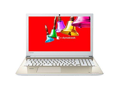 東芝 dynabook AZ65/BG 東芝Webオリジナルモデル (Windows 10 Anniversary/Office Home and Business Premium プラス Office 365 サービス/15.6型/Core i7/ブルーレイ/サテンゴールド) PAZ65BG-BJA