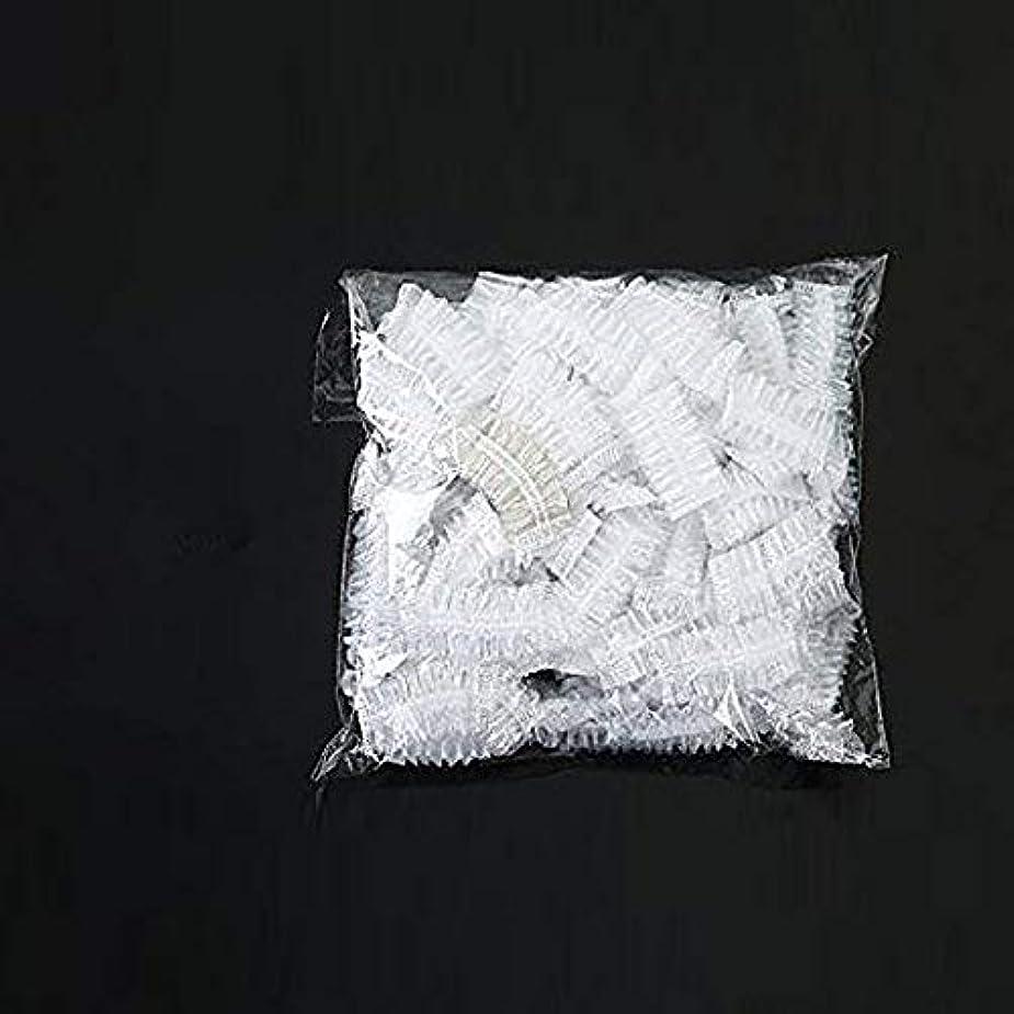 交換可能出席アライアンス100枚セット耳カバー イヤーキャップ 使い捨て毛染め用 シャワーキャップ 髪染め 耳キャップ