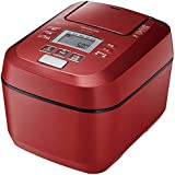 日立 圧力&スチームIH炊飯ジャー(5.5合炊き) ふっくら御膳 メタリックレッド RZ-V100DM-R