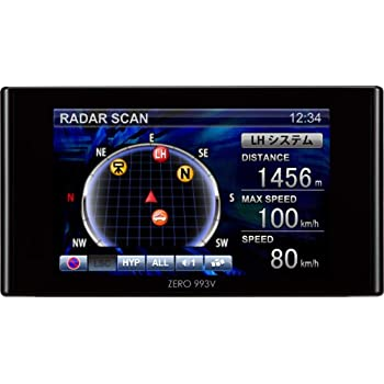 コムテック(COMTEC) 超高感度GPSアンテナ内蔵レーダー探知機 ZERO 993V