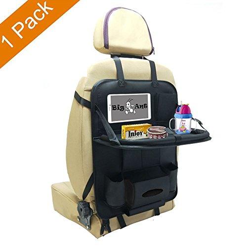 後部座席用 収納ポケット 車用収納バッグ シートバックポケット車用 収納ポケット 大容量 多機能 車内整理 収納 Big Ant