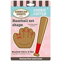 クッキー型/野球セット(ステンレス)