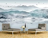 Bzbhart カスタムファッション3Dの壁紙抽象インク絵画風景の背景壁画壁紙3d-450cmx300cm