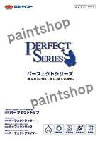 日本ペイント パーフェクトトップ 常備色(壁の色) 4kg 水性塗料 つや:つや消し ND-250