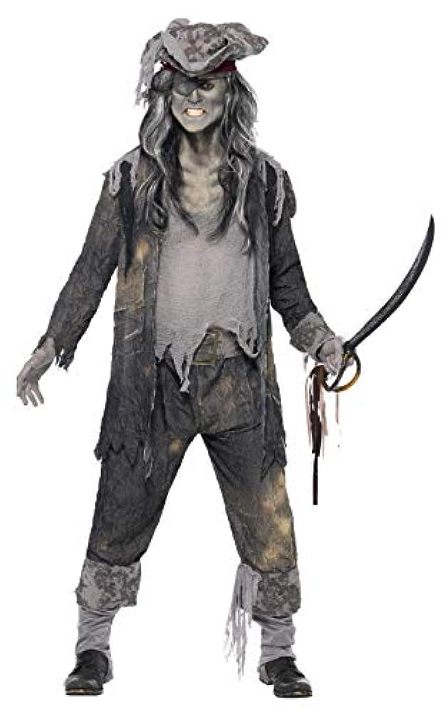 漫画読む不正直幽霊船 海賊 衣装、コスチューム 大人男性用 ゴーストシップ■サイズ:M