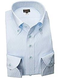 RSD178-002 (スタイルワークス) メンズ長袖ワイシャツ チェック | 青