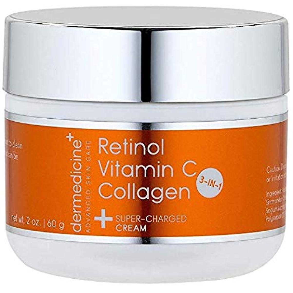 無秩序パーク思われるプレミアム エイジングケアクリーム【3IN1】 コラーゲン+レチノール+ビタミンC配合 60g シミ取り&シワ取り ほうれい線を取り、顔のリフトアップも(若々しい弾力のある肌へ)